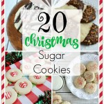 20 CHRISTMAS SUGAR COOKIES RECIPES