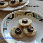 TWO INGREDIENT ROLO COOKIES