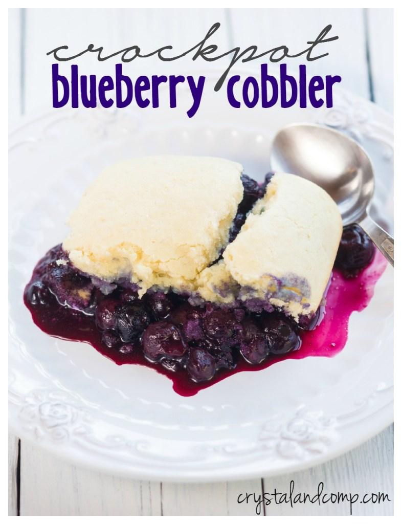 crockpot-blueberry-cobbler