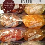 8 EASY CHICKEN FREEZER MEALS IN ONE HOUR