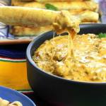 TAQUITO BEEF QUESO DIP