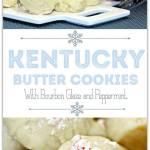 KENTUCKY BUTTER COOKIES WITH BOURBON GLAZE