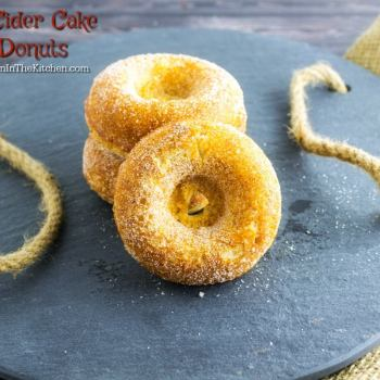 Apple Cider Cake Mix Donuts