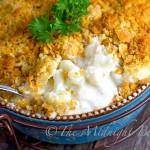 CHOOSE YOUR CHEESE CAULIFLOWER CASSEROLE