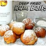 DEEP FRIED RUM BALLS