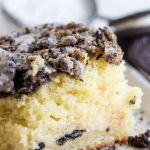 COOKIES AND CREAM COFFEE CAKE