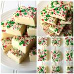 SUGAR COOKIE WHITE CHOCOLATE FUDGE