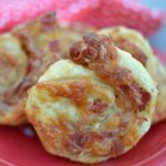 PEPPERONI BACON HAM AND MONTEREY JACK PINWHEELS