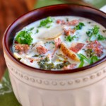 SLOW COOKER OLIVE GARDEN TOSCANA SOUP COPY CAT RECIPE