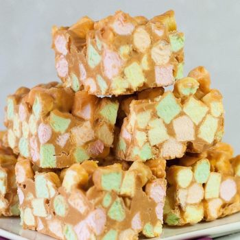 Butterscotch Confetti Squares