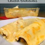 BLACK BEAN & RICE CHICKEN ENCHILADAS