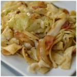 SAVORY BACON CABBAGE AND NOODLES