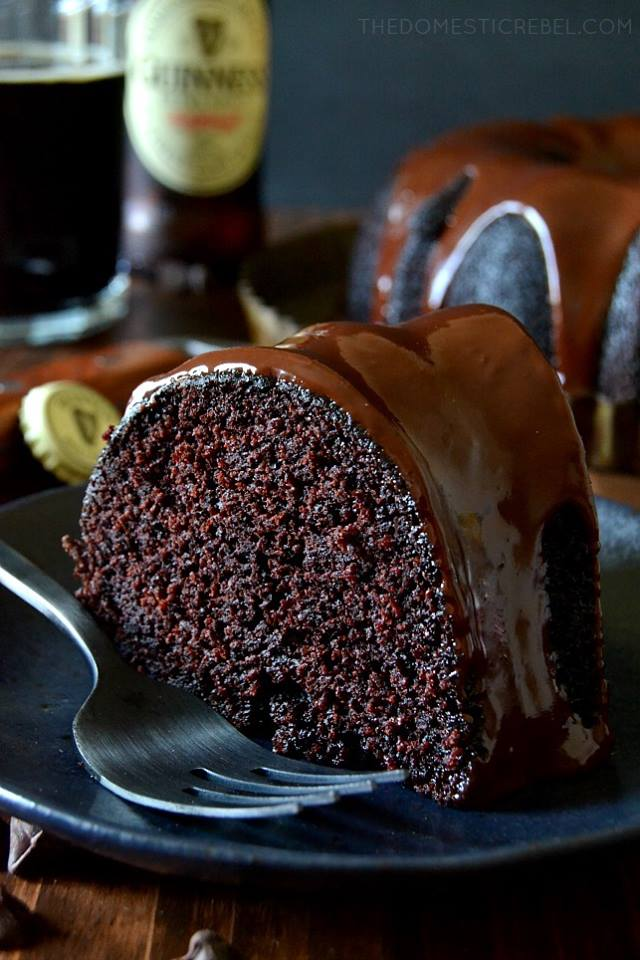 Chocolate Guinness Stout Cake with Chocolate Ganache ...