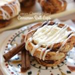 Cream Cheese Filled Cinnamon Roll Cups