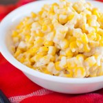 Cream Cheese Corn in the Crock Pot