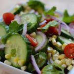 Cucumber Salad with Lime Vinaigrette