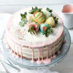 Vanilla Bean Layer Cake With Cream Cheese Whipped Cream