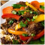 Beef Teriyaki and Vegetables