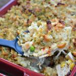 Stuffing Topped Chicken Pot Pie