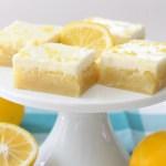 Lemon Butter Bars