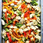 Sheet Pan Chicken Stir Fry