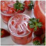 Easy Lip Smacking Strawberry Lemonade