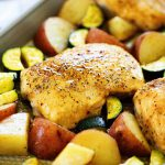 Brown Sugar Italian Chicken & Veggies