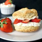 Strawberry and Cream Shortcakes