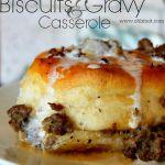 Biscuits & Gravy Casserole