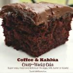 Coffee & Kahlua Crazy~Wacky Cake