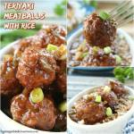 Teriyaki Meatballs with Rice