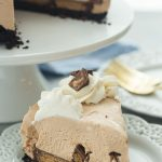 No Bake Reese's Peanut Butter Cup Cheesecake