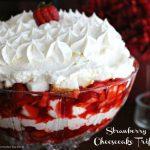 Strawberry Cheesecake Trifle