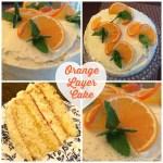 Orange Layer Cake