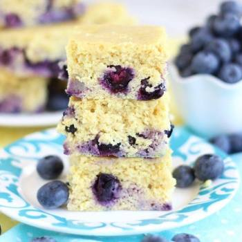 Lemon Blueberry Protein Bars