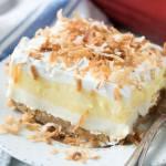 Perfect Coconut Cream Lush Dessert