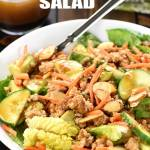 P.F. Chang's Chicken Lettuce Wraps Salad