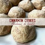 Cinnamon Cookies (Polvorones de Canele)