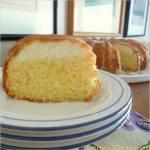 Glazed Lemon Lime Ricotta Cake