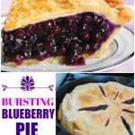 Bursting Blueberry Pie