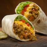 Cheeseburger Burritos