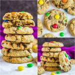 Soft and Chewy Monster Cookies