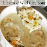 Copycat Panera Chicken and Wild Rice Soup