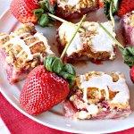 Fresh Strawberry Breakfast Cobbler