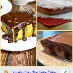 Simple Cake Mix Poke Cake Recipes