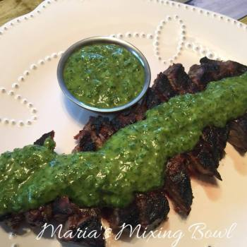 Chimichurri Sauce and Marinade