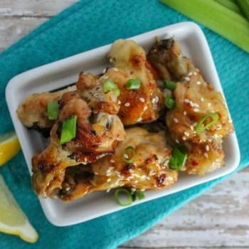Instant Pot Sesame Ginger Wings