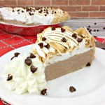 Chocolate Cream Pie with Marshmallow Meringue