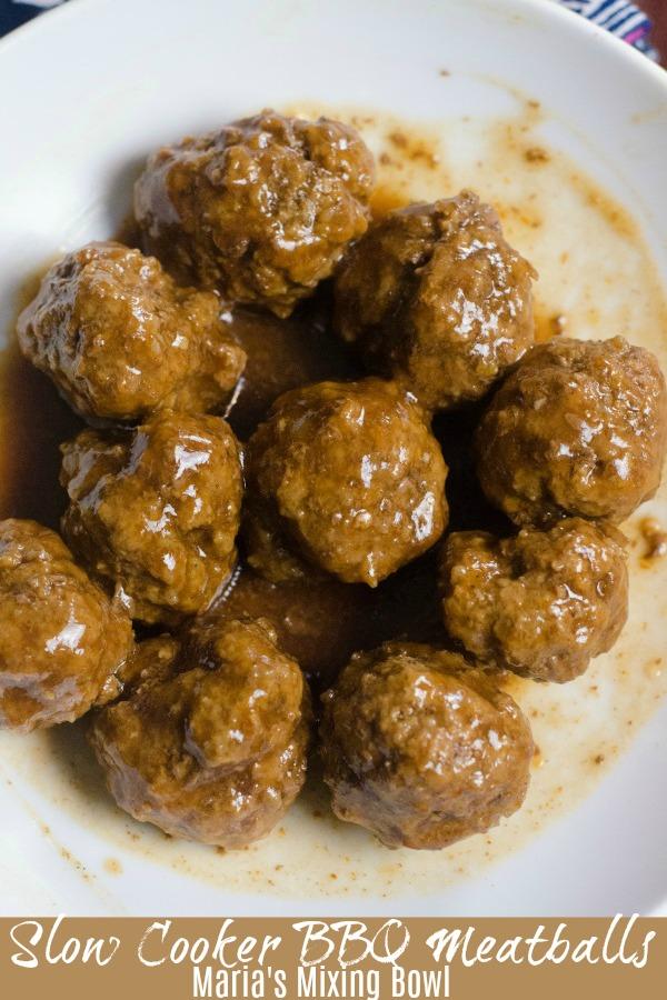 Slow Cooker BBQ Meatballs