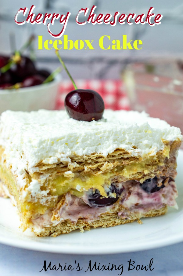 Cherry Cheesecake Icebox Cake